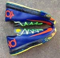 Nike KD VI Nerf by AMAC Customs