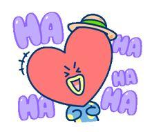 New Cookies Official Ideas Iphone Wallpaper Glitter, Funny Emoji, K Pop Star, Line Friends, Bts Chibi, Bts Fans, Line Sticker, I Love Bts, Bts Group