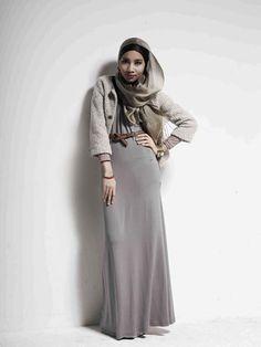 Yuna Zarai hijab fashion 2013 inspirations Hijab Fashion 2013 Inspirations