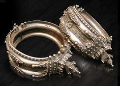 India - vintage Orissan Tada armlets