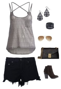 """""""Untitled #1706"""" by netteskytte on Polyvore featuring rag & bone, Serene Blue, Charlotte Russe, Calvin Klein, Thalia Sodi, ABS by Allen Schwartz, Ray-Ban and plus size clothing"""