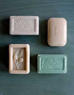 beautiful color palette for soap