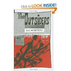 The Outsiders. Love, love love this book!  I must have read it at least half a dozen times as a kid!  Amazing read!