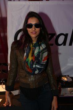 Stylish as always, Janina Gavankar from the hit series True Blood on HBO