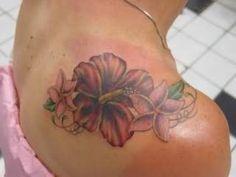 28 Best Hibiscus Flower Tattoos On Shoulder Images In 2017 Flower