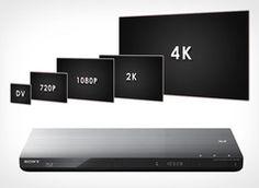 Sony BDP-S790 - 3D Blu-ray Player mit 4k Auflösung. Für das einmalige Kinoerlebnis zuhause!