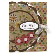Get Well Wishes by Judy Hayes - Scrapbook.com