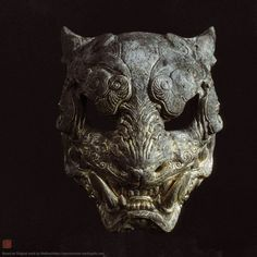 ArtStation - Melita's Tiger mask, by Zhelong XU