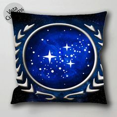 Federation star wars 2 pillow case, cushion cover ( 1 or 2 Side Print With Size 16, 18, 20, 26, 30, 36 inch )