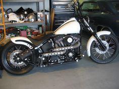 anybody do a softail bobber/chopper? pics? - Page 3 - Harley Davidson Forums