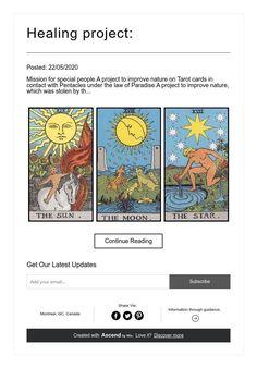 Healing project: Pentacle, Special People, Tarot Cards, Healing, Projects, Universe, Life, Art, Tarot Card Decks