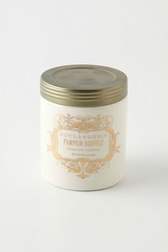 """(was $16.00)  Write a review  Be the first to write a review.  Pin It share this on twittersend to Friend  DETAILS        40 hour burn time      Paraffin      3""""H, 3"""" diameter      6 oz      USA         Style #: S993434    color: pumpkin souffle  ONE SIZE  quantity:  add to basket  ADD to WISH LIST FIND in a STORE SHIPPING and RETURNS"""