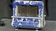 Video: Appraisal: Blue Willow Patterned Toaster   Watch Antiques ...