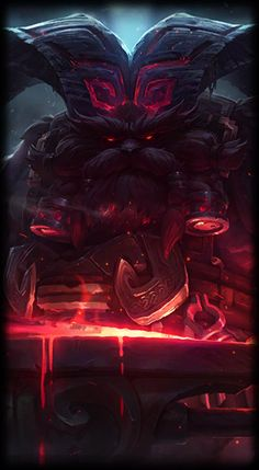League of Legends- Ornn, the Fire Bellow the Mountain.