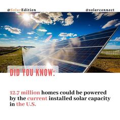 Gw, Solar Energy, This Is Us, To Go, Electric, Industrial, Homes, American, Outdoor Decor