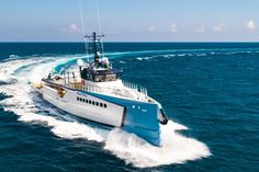 Damen support vessel Power Play launch and sea trials Yacht Design, Boat Design, Speed Boats, Power Boats, Explorer Yacht, Yacht Builders, Yacht For Sale, Whitewater Kayaking, Canoe Trip