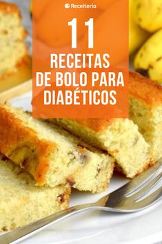 11 cake recipes for diabetics with lots of flavor and no sugar - 11 cake recipes for diabetics that are sugar free - Diabetic Recipes, Healthy Recipes, Diabetic Cake, Sweet Recipes, Cake Recipes, Comidas Fitness, Sugar Free Sweets, Portuguese Recipes, No Carb Diets