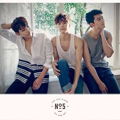 Jun. K, Wooyoung and Taecyeon's teaser for 2PM's 5th Album.
