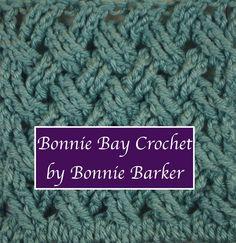 The Barker Celtic Weave (or Celtic Weave) as taught by Bonnie Barker. BonnieBayCrochet.com