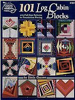 101 Log Cabin Blocks