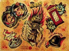 The Clash tattoos