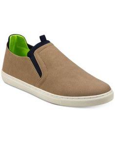 Tommy Hilfiger Men's Spence Slip-On Sneakers - Brown 10.5