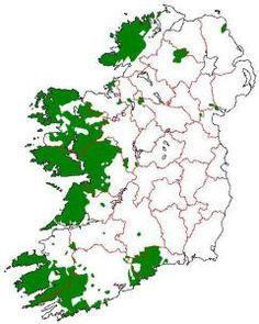 Gaeltacht - Wikipedia An Ghaeltacht areas of the island of Ireland which would have qualified for Gaeltacht status according to the first Coimisiún na Gaeltachta Clare Island, Irish Free State, Ireland Map, Irish Language, Scottish Gaelic, Irish Times, Erin Go Bragh, County Cork, Connemara