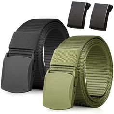 Metal Buckle: The Buckle is Made of Zinc Alloy Metal. Lightweight, robust, quick and easy to fasten, stronger and more secure than traditional plastic buckles. Can be used for daily wear, casual pants, tactical pants and other field training.