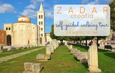Zadar's location, on the northern Dalmatian Coast, makes the city an ideal base for exploring Croatia! Islands, national parks and some of the region's most picturesque cities can be reached on day trips from Zadar, Croatia. Croatia Itinerary, Hvar Croatia, Boat Tours, Most Visited, Dubrovnik, Walking Tour, Day Trips, Trip Planning, Places To See