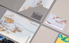 Visual identity, stationery and pitch documents designed by Bond for London-based event planning business Moriarty