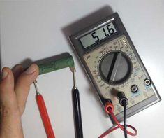 Curso de #Eletrônica – Como usar um #Multímetro, parte 01
