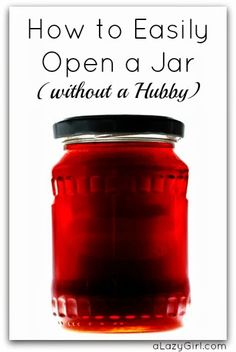 My favorite way to almost always successfully open a jar is the hit the metal lid with the back of a wooden spoon or butter knife about 4 ti...