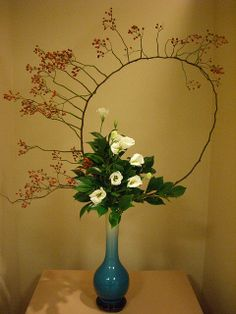 RK:Japanese flower arrangement 10, Ikebana: いけばな | Flickr - Photo Sharing!