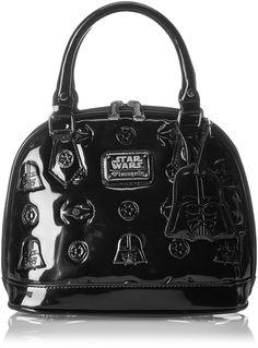 Loungefly Darth Vader Darkside Mini Dome Top Handle Bag, Black, One Size: Handbags: Amazon.com