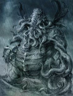 Cthulhu THE GREAT ONE by TheGurch on deviantART
