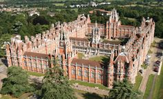 Royal Holloway University, Egham, Surrey (my university and one of the most beautiful buildings in the world!)