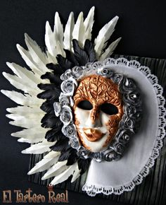 Carnival Cakers Collaboration - Cake by El Tartero Real Masquerade Cakes, Carnival Cakes, Beautiful Cakes, Amazing Cakes, Love Cake, Collaboration, Cake Decorating, Halloween Face Makeup, Daily Inspiration