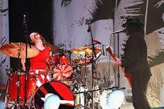 Image result for glastonbury The White Stripes