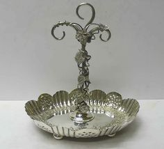 silver serving dishes   Antique Silver Tureens and Silver Serving Dishes from the waxantiques ...