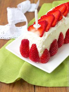 Layer cake sans gluten à la fraise