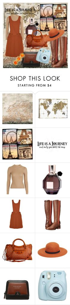 """Life Is A Journey"" by beograd-love ❤ liked on Polyvore featuring WALL, iCanvas, Topshop, Viktor & Rolf, TIBI, Ariat, Balenciaga, MANGO and Fujifilm"