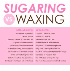 Sugaring Vs. Waxing If you are on a retinol or Retin-A skin care regimen, sugaring is your friend. Safe for even the most sensitive skin.