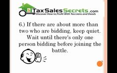 How to Win in Tax Deed Auctions