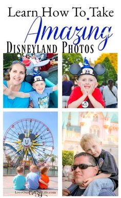 You can take amazing Disney photos even if you don't have a fancy camera or photography training. Learn how and check out these awesome tips. Disney | Disneyland | Travel | Vacation | Photography | Travel With Kids | Travel Tips | Photography Tips | Family Pictures via @thebeccarobins