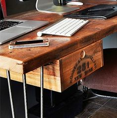 Reclaimed Wood Desk Made to Order Desks Drawers and Retro