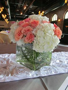 Guest Book Table Flowers
