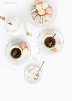 Tea Time Styled Stock Photography   product styling, prop styling, and photography by Shay Cochrane   www.shaycochrane.com   Purchase now in the SC Stockshop!