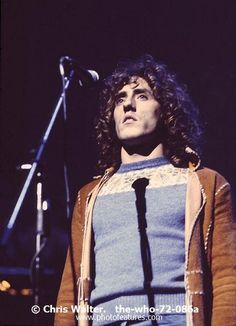 The Who  Photo Caption: The WHO 1972 Roger Daltrey in Tommy at the Rainbow � Chris Walter