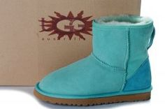 UGG Classic Mini Boots Lake Green