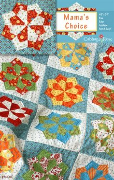 Mama's Choice pattern - a nice addition to this list, but I don;t see myself putting it into the sampler quilt.